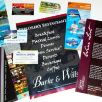 Business Cards and Brochures